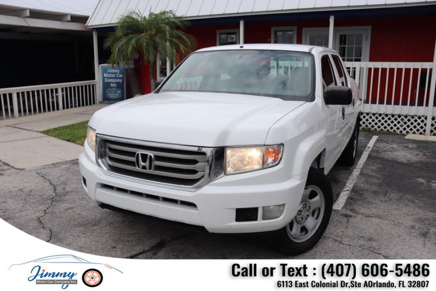 Used Honda Ridgeline 4WD Crew Cab RT 2013 | Jimmy Motor Car Company Inc. Orlando, Florida