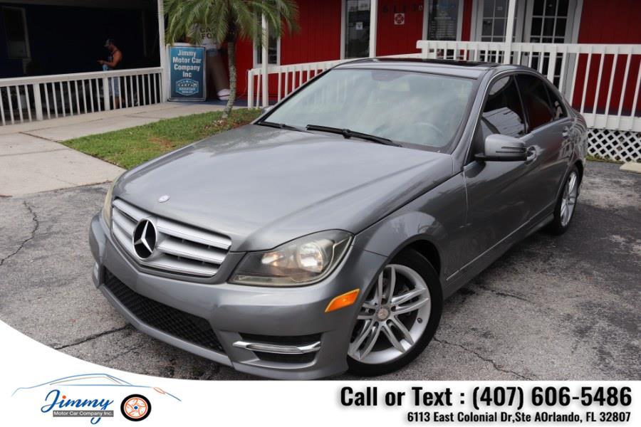 Used Mercedes-Benz C-Class 4dr Sdn C 250 Sport RWD 2013   Jimmy Motor Car Company Inc. Orlando, Florida