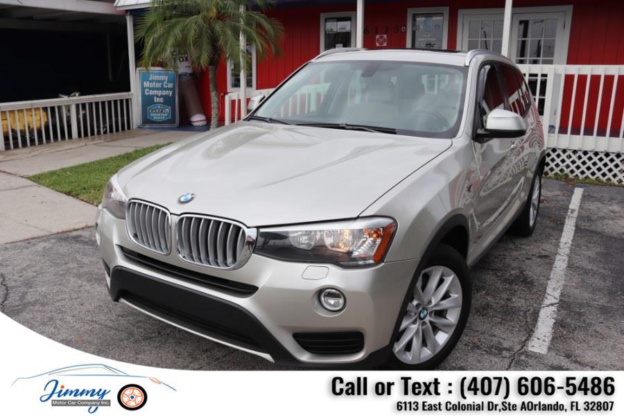 Used BMW X3 RWD 4dr sDrive28i 2015   Jimmy Motor Car Company Inc. Orlando, Florida