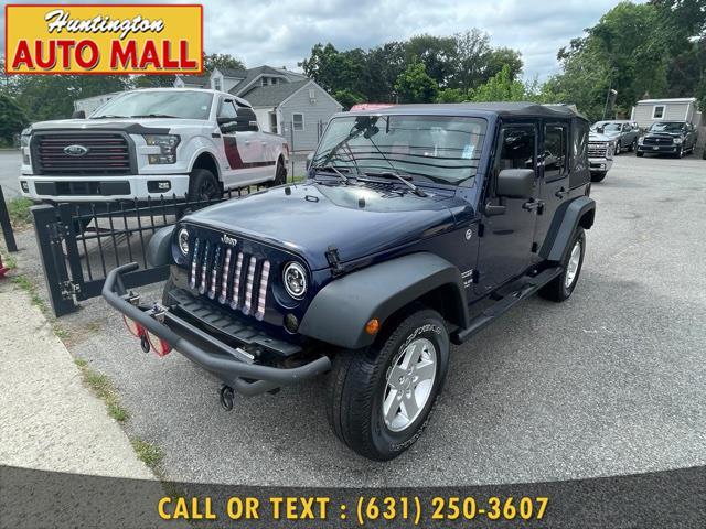 Used Jeep Wrangler Unlimited 4WD 4dr Freedom Edition *Ltd Avail* 2013 | Huntington Auto Mall. Huntington Station, New York
