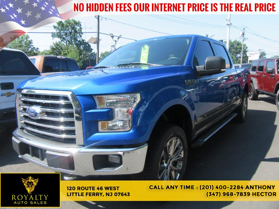 """Used Ford F-150 4WD SuperCrew 157"""" XLT 2015 