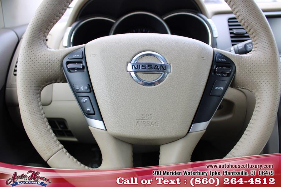 Used Nissan Murano AWD 4dr SL 2012 | Auto House of Luxury. Plantsville, Connecticut