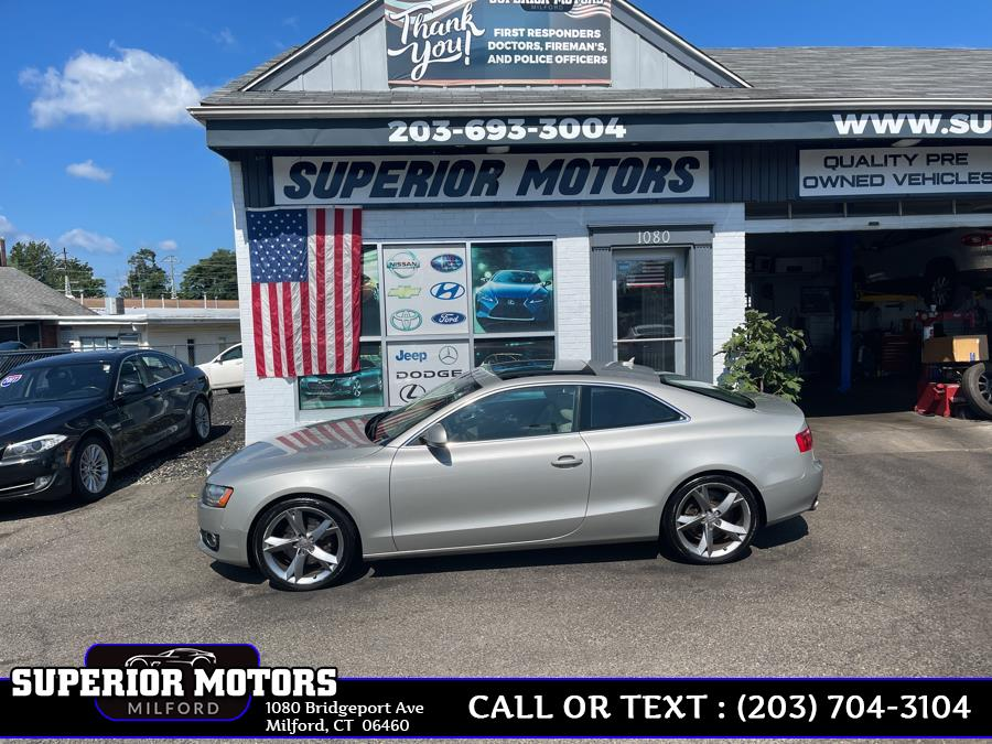 Used 2009 AUDI COUPE A5 QUATRO AWD in Milford, Connecticut | Superior Motors LLC. Milford, Connecticut