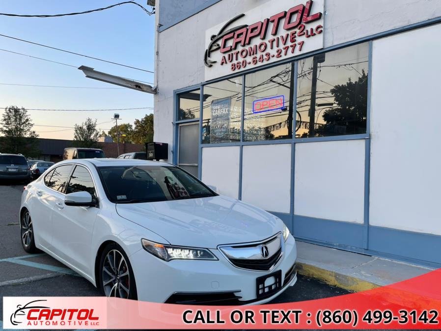 Used Acura TLX 4dr Sdn FWD V6 2015 | Capitol Automotive 2 LLC. Manchester, Connecticut