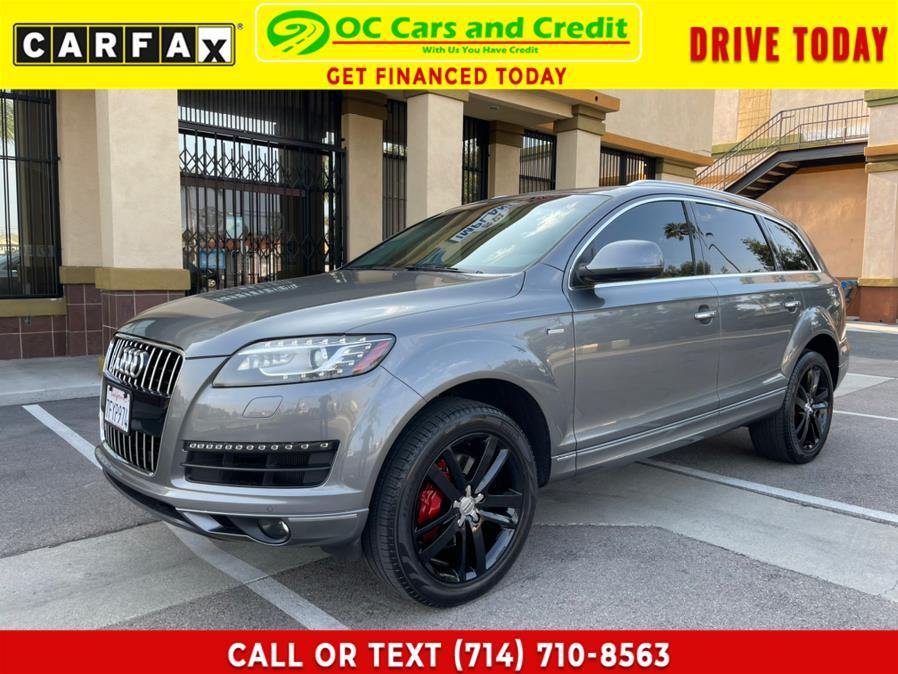 Used 2014 Audi Q7 in Garden Grove, California | OC Cars and Credit. Garden Grove, California
