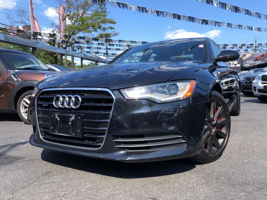 Used 2013 Audi A6 in Bronx, New York | Champion Auto Sales Of The Bronx. Bronx, New York