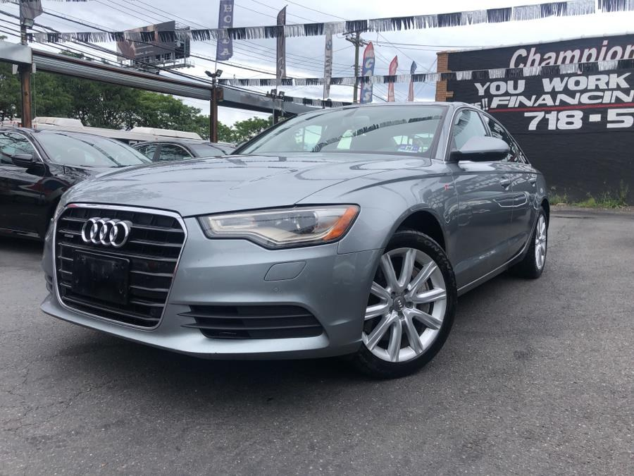 Used 2014 Audi A6 in Bronx, New York | Champion Auto Sales Of The Bronx. Bronx, New York