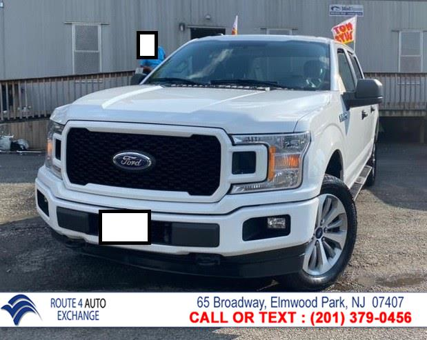 Used Ford F-150 XLT 4WD SuperCrew 5.5'' Box 2018 | Route 4 Auto Exchange. Elmwood Park, New Jersey