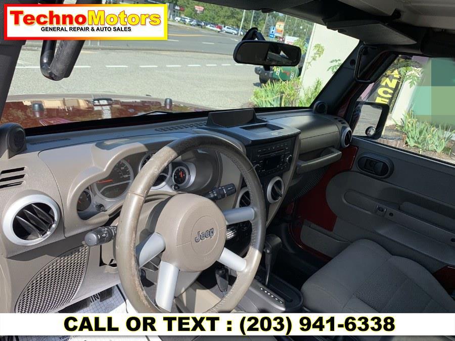Used Jeep Wrangler 4WD 4dr Unlimited Sahara 2008   Techno Motors . Danbury , Connecticut