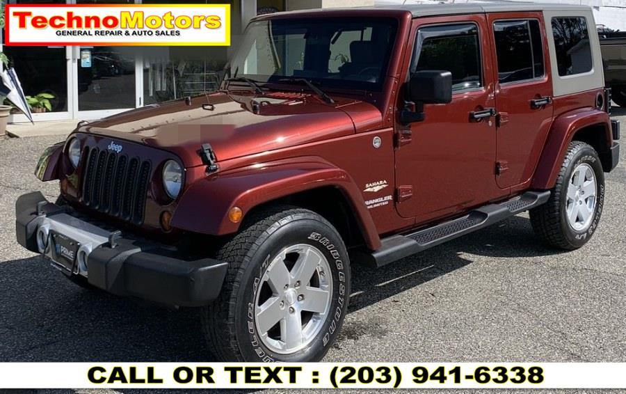 2008 Jeep Wrangler 4WD 4dr Unlimited Sahara, available for sale in Danbury , CT