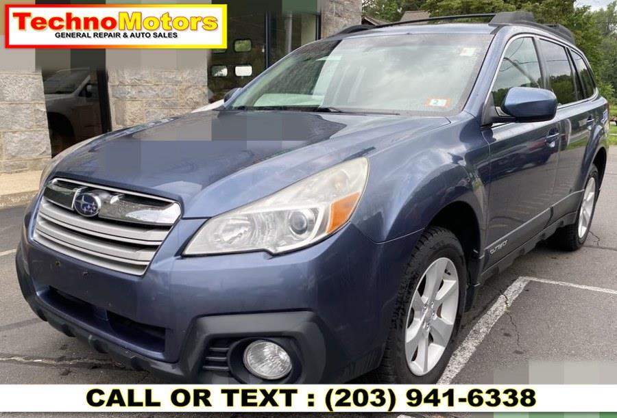 Used Subaru Outback 4dr Wgn H4 Auto 2.5i Premium 2013 | Techno Motors . Danbury , Connecticut