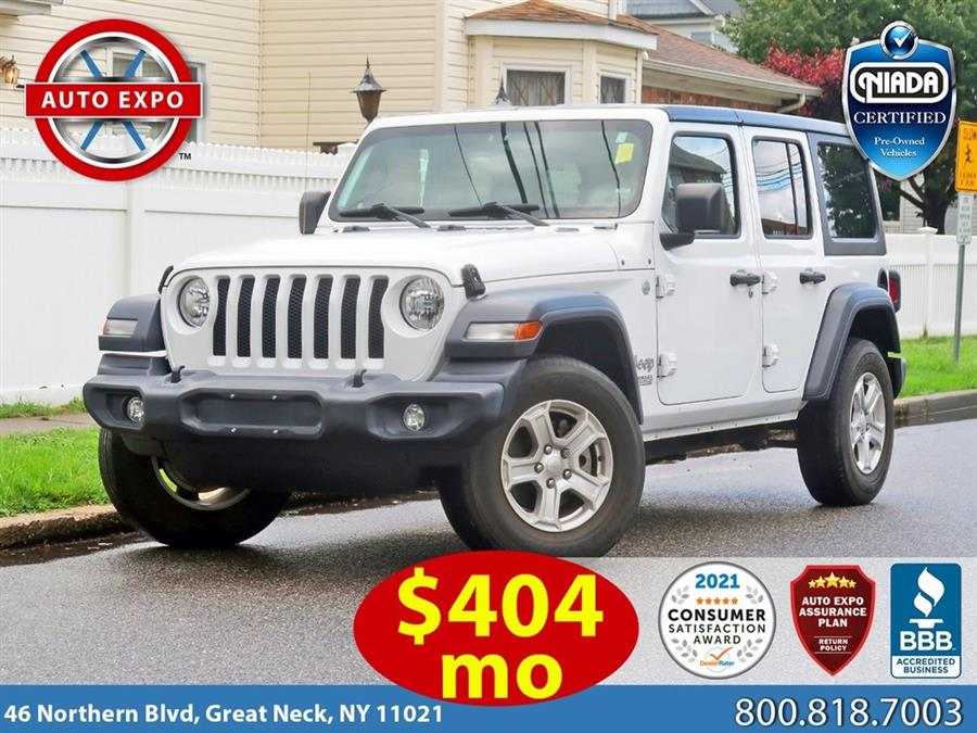 Used Jeep Wrangler Unlimited Sport 2018 | Auto Expo Ent Inc.. Great Neck, New York