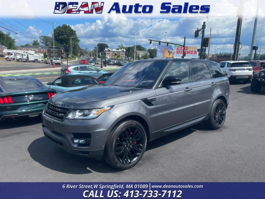 Used Land Rover Range Rover Sport Super Charged 4WD 4dr V8 2016   Dean Auto Sales. W Springfield, Massachusetts