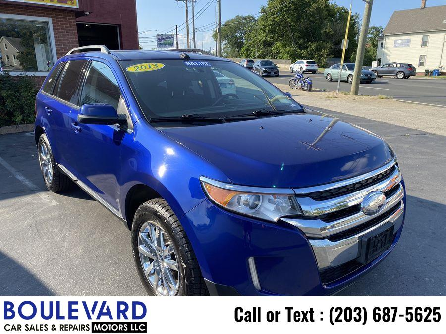 Used Ford Edge Limited Sport Utility 4D 2013 | Boulevard Motors LLC. New Haven, Connecticut