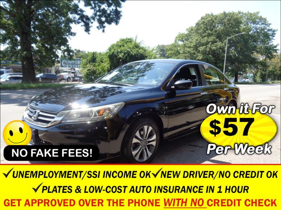 Used Honda Accord Sdn 4dr I4 CVT LX 2013 | Sunrise Auto Sales. Rosedale, New York