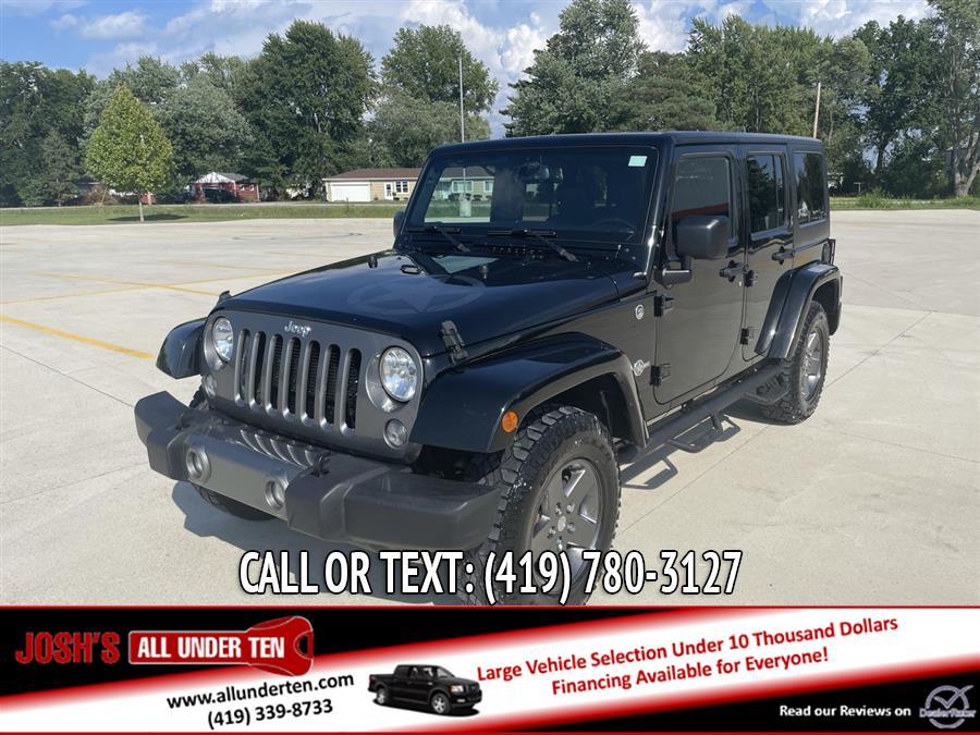 Used 2015 Jeep Wrangler Unlimited in Elida, Ohio | Josh's All Under Ten LLC. Elida, Ohio