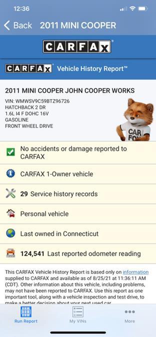 Used MINI Cooper Hardtop 2dr Cpe John Cooper Works 2011   Village Auto Sales. Milford, Connecticut