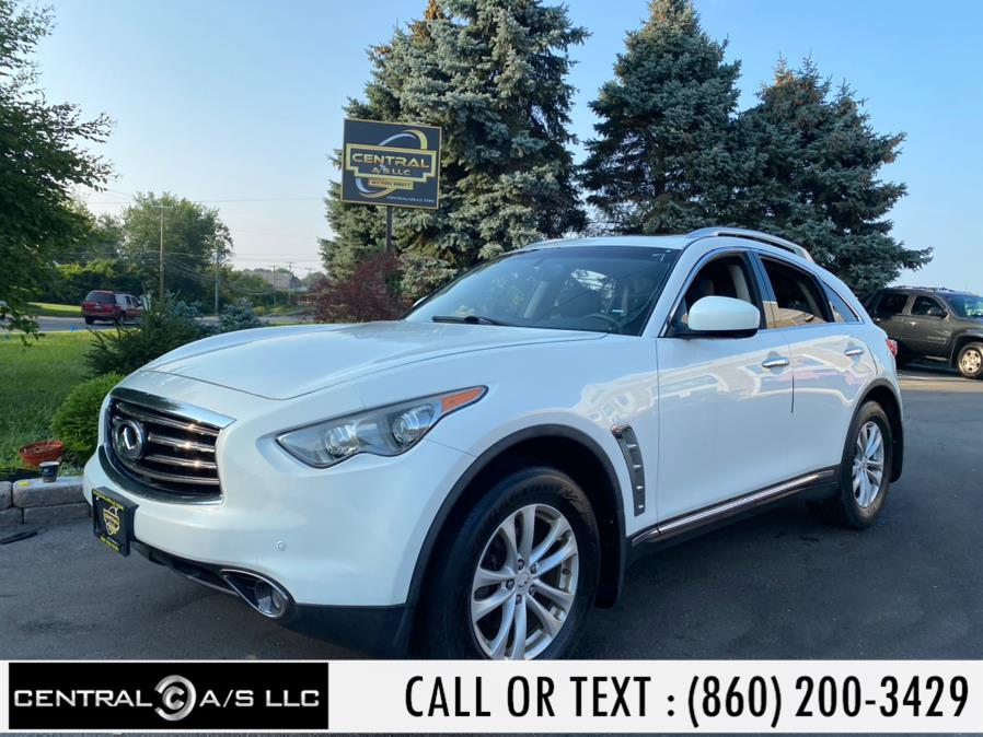 Used Infiniti FX35 AWD 4dr 2012 | Central A/S LLC. East Windsor, Connecticut