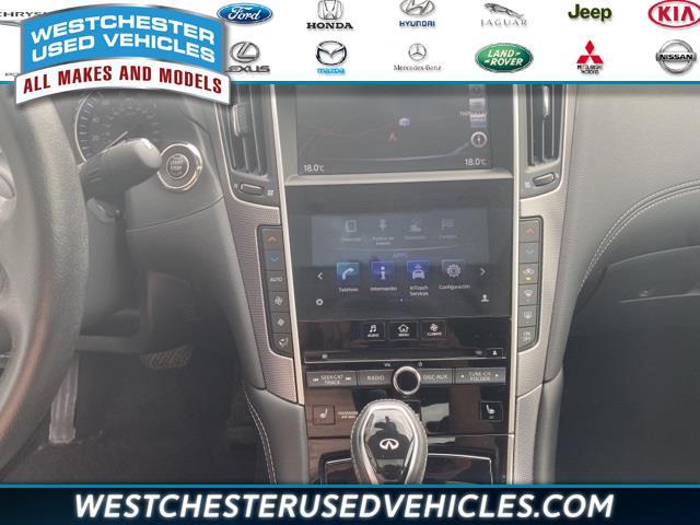 Used Infiniti Q50  2018   Westchester Used Vehicles. White Plains, New York