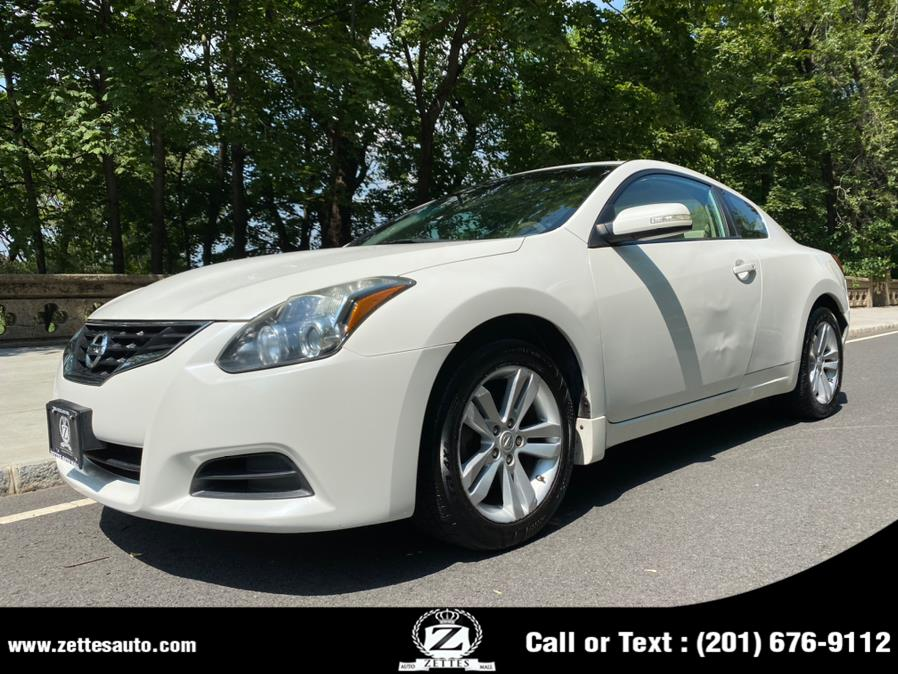 Used Nissan Altima 2dr Cpe I4 CVT 2.5 S 2012   Zettes Auto Mall. Jersey City, New Jersey