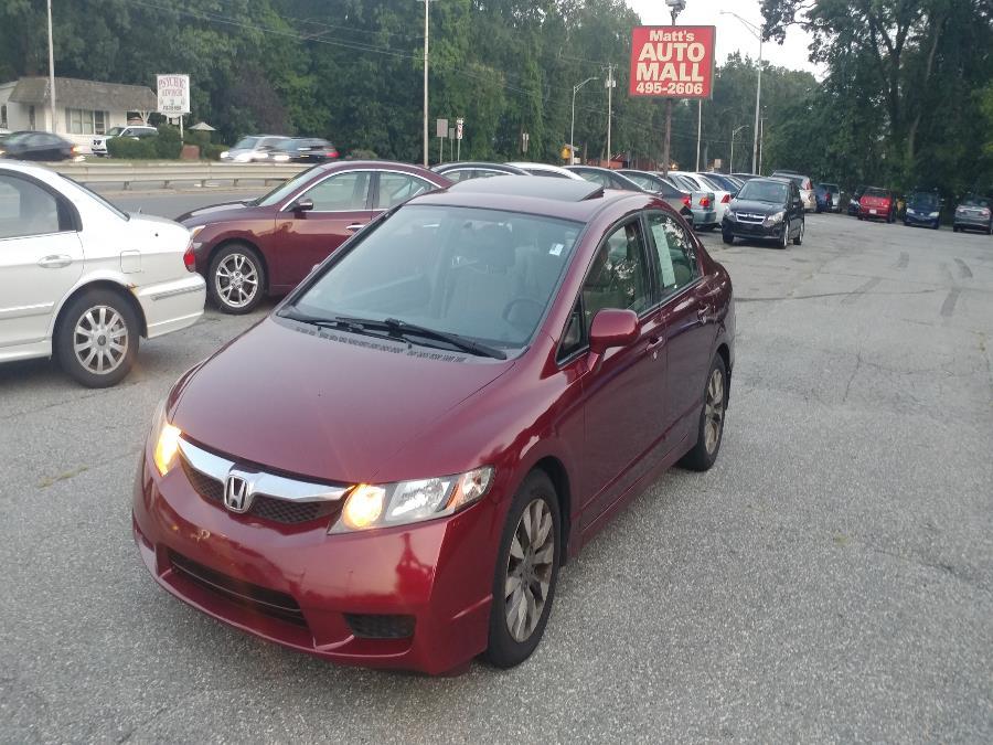 Used 2009 Honda Civic Sdn in Chicopee, Massachusetts | Matts Auto Mall LLC. Chicopee, Massachusetts
