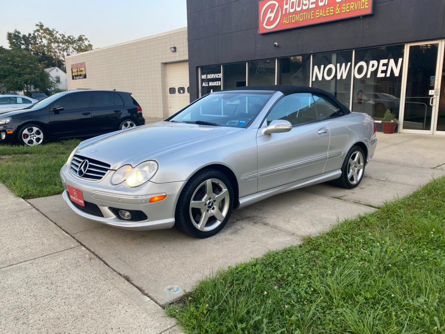 Used Mercedes Benz CLK Class 2dr Cabriolet 5.0L 2005 | House of Cars CT. Meriden, Connecticut