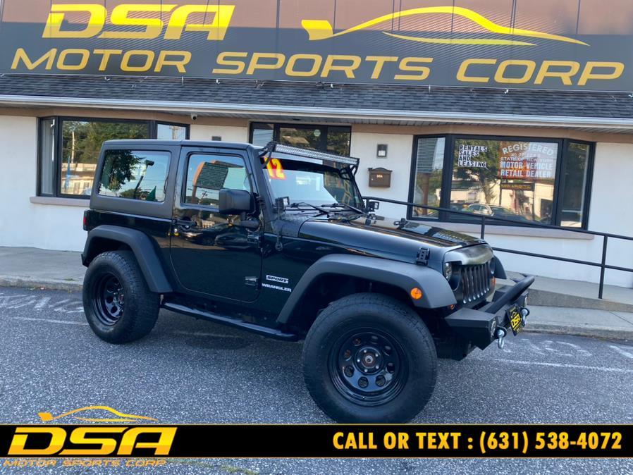 Used Jeep Wrangler 4WD 2dr Sport 2012 | DSA Motor Sports Corp. Commack, New York