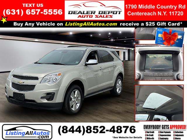 Used 2015 Chevrolet Equinox in Patchogue, New York   www.ListingAllAutos.com. Patchogue, New York