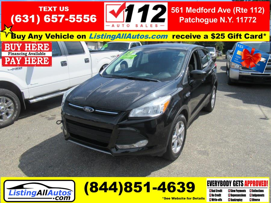 Used Ford Escape 4WD 4dr SE 2015   www.ListingAllAutos.com. Patchogue, New York