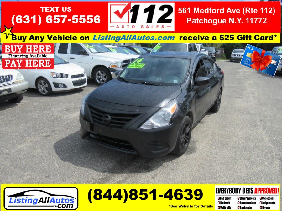 Used 2016 Nissan Versa in Patchogue, New York | www.ListingAllAutos.com. Patchogue, New York