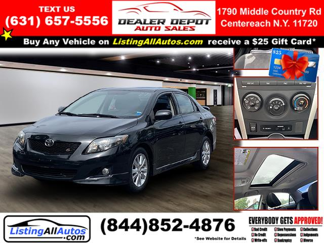 Used Toyota Corolla 4dr Sdn Man (Natl) 2009 | www.ListingAllAutos.com. Patchogue, New York