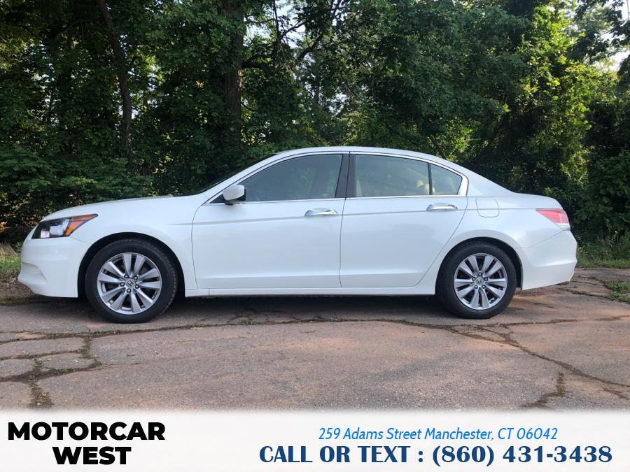 Used Honda Accord Sdn 4dr V6 Auto EX-L 2012   Motorcar West. Manchester, Connecticut