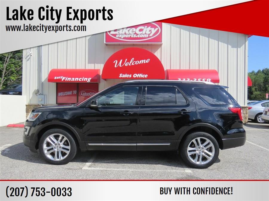Used Ford Explorer XLT AWD 4dr SUV 2017 | Lake City Exports Inc. Auburn, Maine