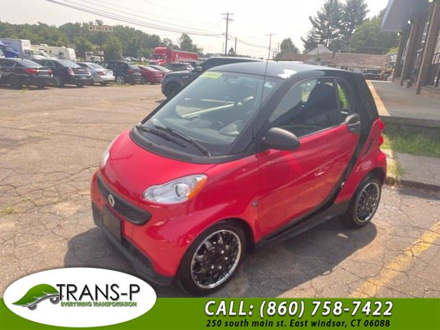 Used Smart fortwo 2dr Cpe Pure 2014   Trans P LLC. East Windsor, Connecticut