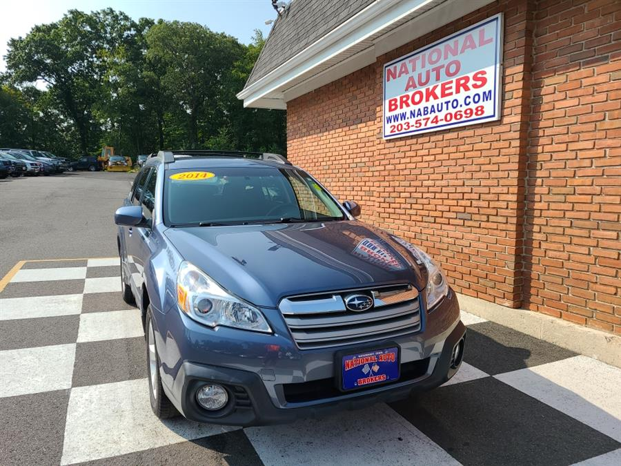 Used Subaru Outback 4dr Auto 2.5i Premium 2014 | National Auto Brokers, Inc.. Waterbury, Connecticut