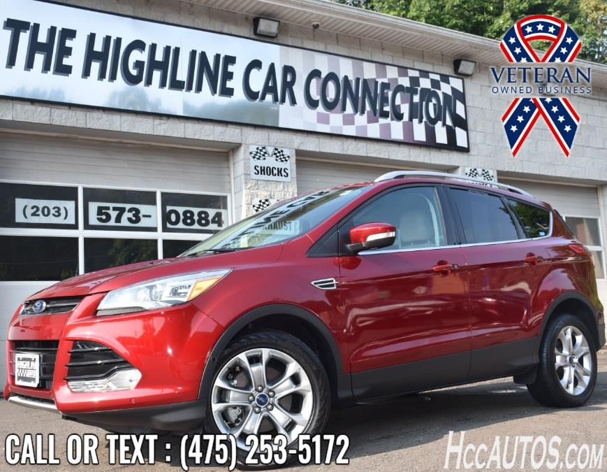 Used Ford Escape 4WD 4dr Titanium 2014 | Highline Car Connection. Waterbury, Connecticut