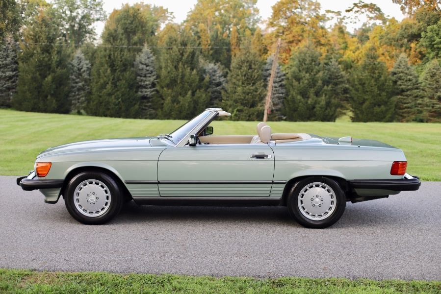 Used Mercedes-Benz 560 Series 2dr Roadster 560SL 1987 | Meccanic Shop North Inc. North Salem, New York