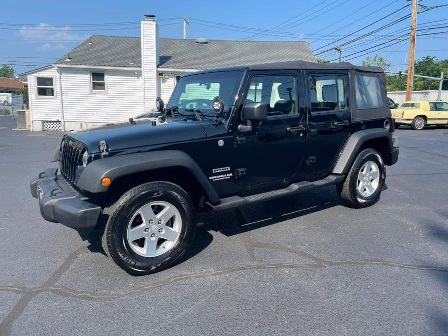 Used 2010 Jeep Wrangler Unlimited in Milford, Connecticut | Chip's Auto Sales Inc. Milford, Connecticut