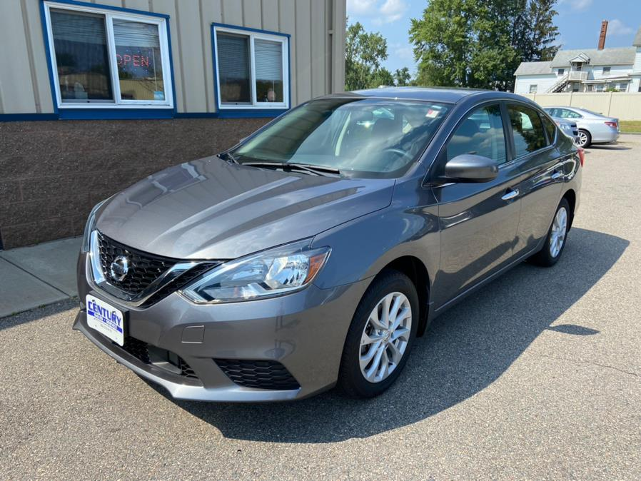 Used Nissan Sentra SV CVT 2018 | Century Auto And Truck. East Windsor, Connecticut