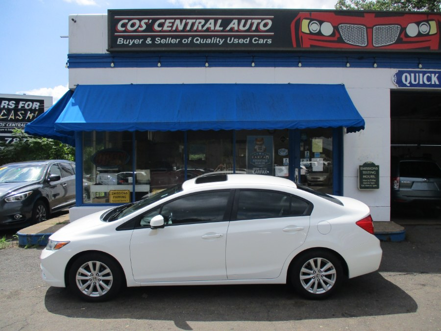 Used Honda Civic Sdn EXL 2012 | Cos Central Auto. Meriden, Connecticut