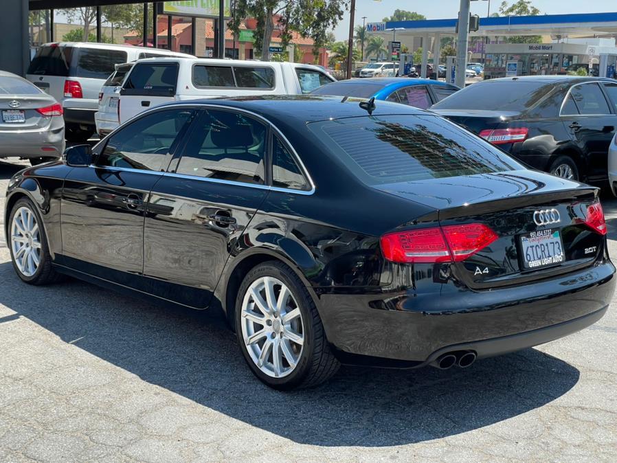Used Audi A4 4dr Sdn CVT FrontTrak 2.0T Premium Plus 2011   Green Light Auto. Corona, California