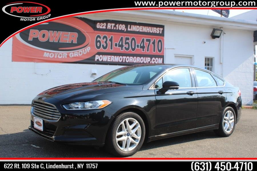 Used Ford Fusion 4dr Sdn SE FWD 2015 | Power Motor Group. Lindenhurst, New York