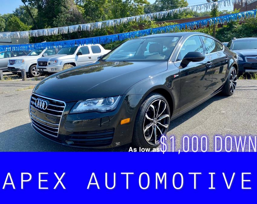Used 2012 Audi A7 in Waterbury, Connecticut | Apex  Automotive. Waterbury, Connecticut