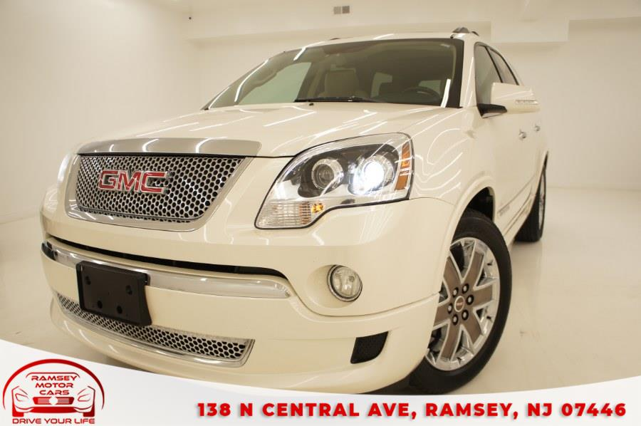 Used 2012 GMC Acadia in Ramsey, New Jersey | Ramsey Motor Cars Inc. Ramsey, New Jersey