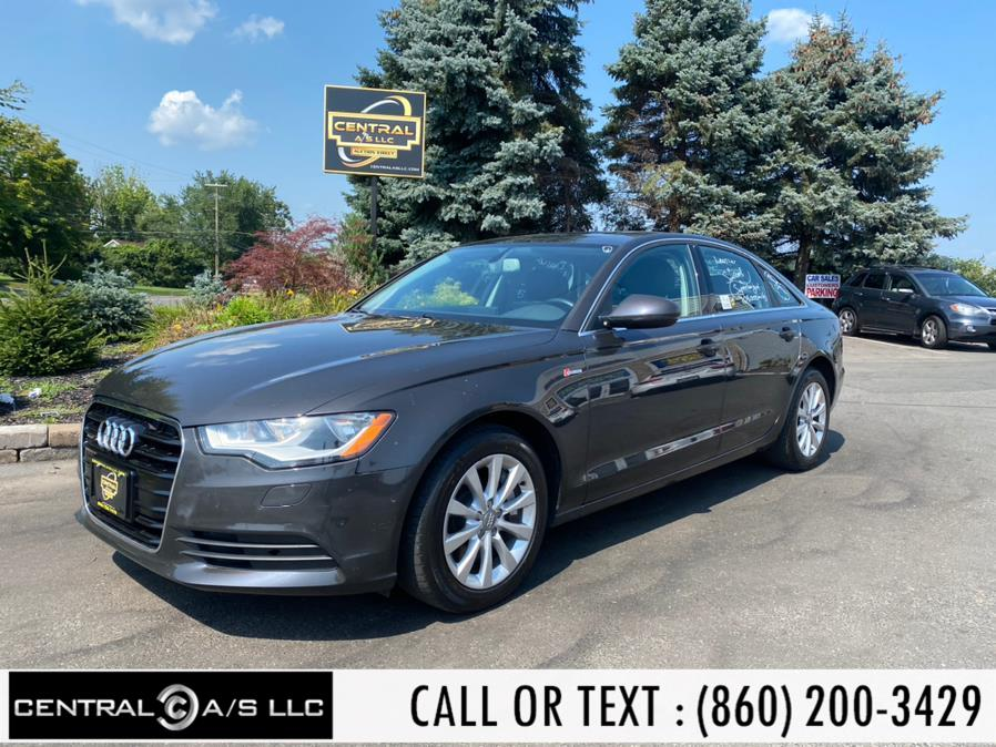 Used Audi A6 4dr Sdn quattro 3.0T Premium 2012 | Central A/S LLC. East Windsor, Connecticut
