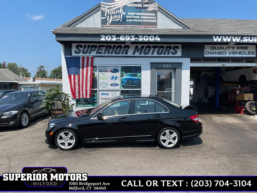 Used 2011 Mercedes-Benz C-300 4MATIC in Milford, Connecticut   Superior Motors LLC. Milford, Connecticut
