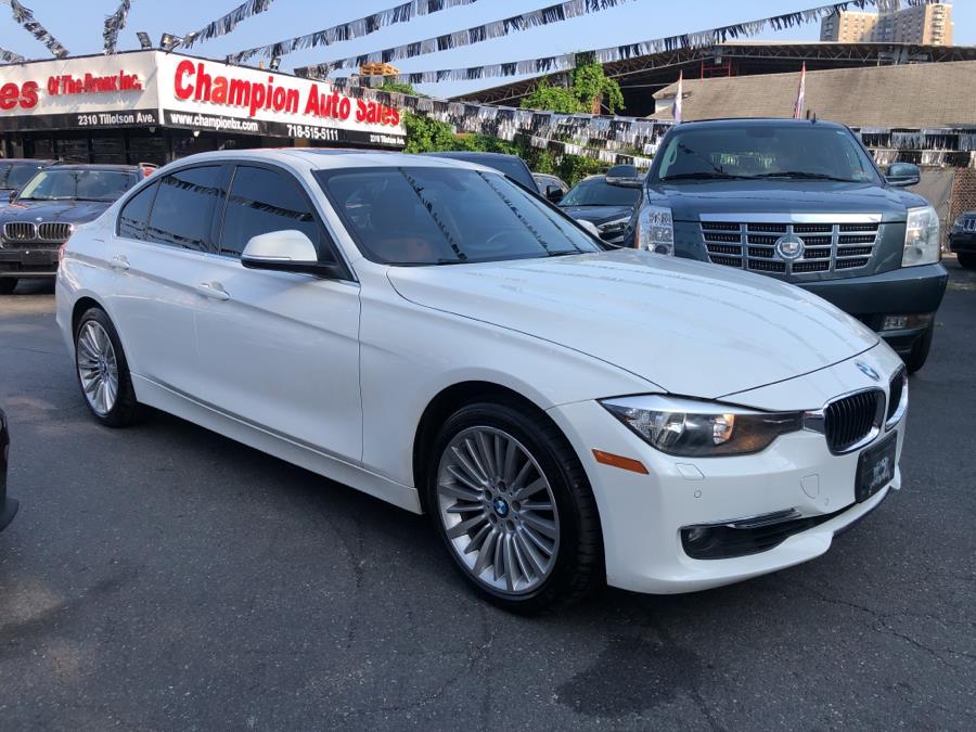 Used BMW 3 Series 4dr Sdn 328i xDrive AWD SULEV 2014 | Champion Auto Sales Of The Bronx. Bronx, New York