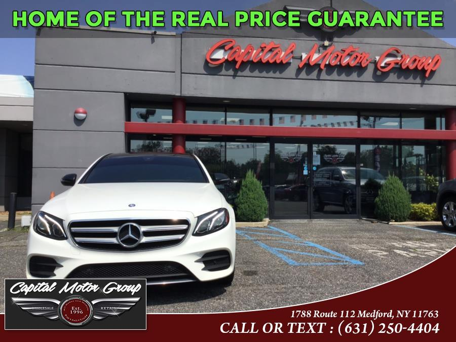 Used Mercedes-Benz E-Class E 300 Luxury 4MATIC Sedan 2017   Capital Motor Group Inc. Medford, New York