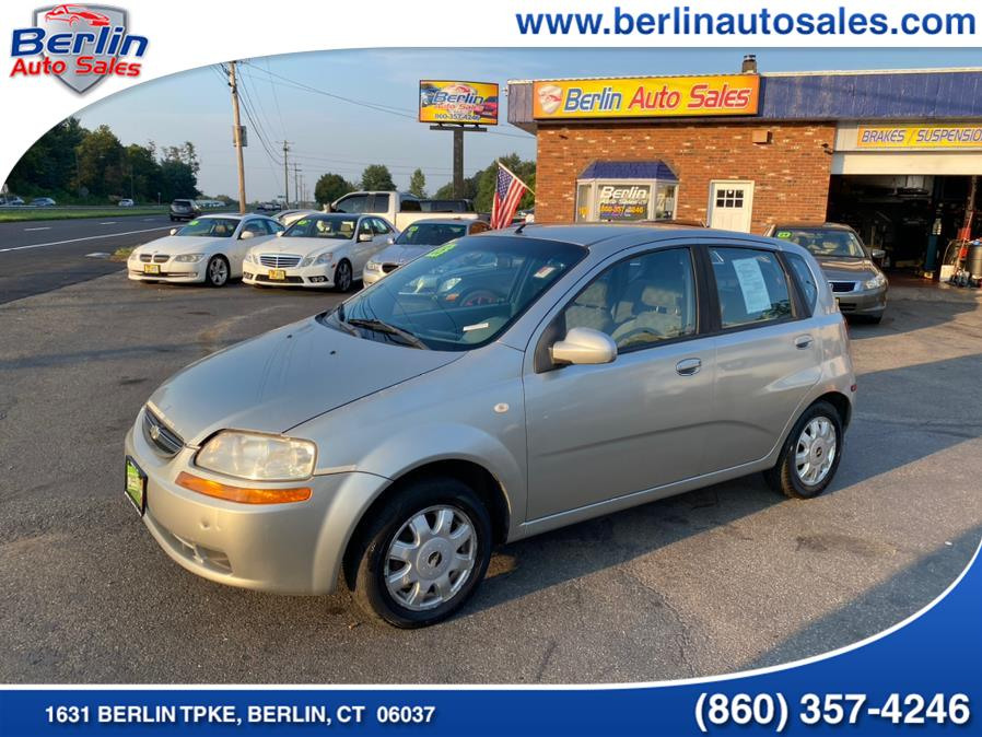 Used 2005 Chevrolet Aveo in Berlin, Connecticut | Berlin Auto Sales LLC. Berlin, Connecticut
