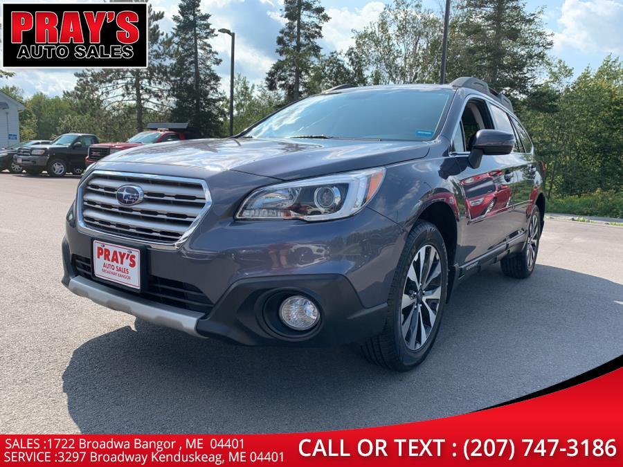 Used Subaru Outback 4dr Wgn 2.5i Limited PZEV 2016   Pray's Auto Sales . Bangor , Maine